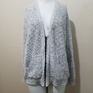 Silence + Noise Oversized Zip Cardigan Sweater UO